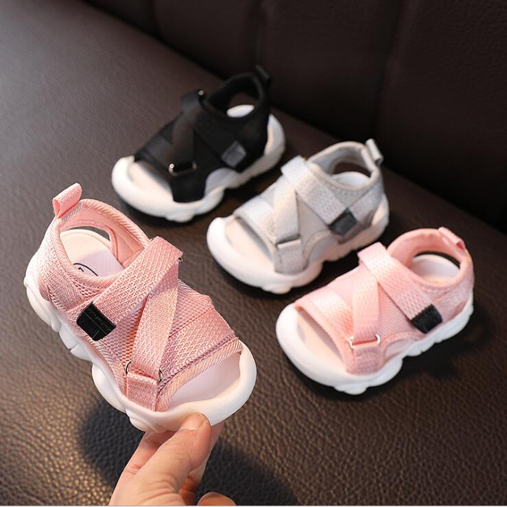 New Summer Kids Sandals Brand Open Toe Toddler Boys Sandals Orthopedic Sport Mesh Baby Boys Sandals Shoes