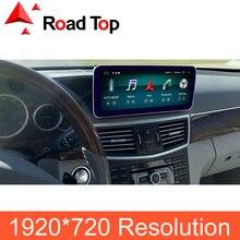 4G Ram 10,25 дюймов Android 8,1 дисплей для Mercedes Benz E Class W212, с gps навигацией Bluetooth Радио стерео сенсорный экран