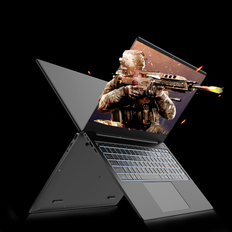 Newest Launch 15.6Inch Metal Laptop With Intel I3 Dual Core 5005U 6000mAh Lithium Battery 5G Bluetooth4.2 Mini HDMI 8G Up To 1TB