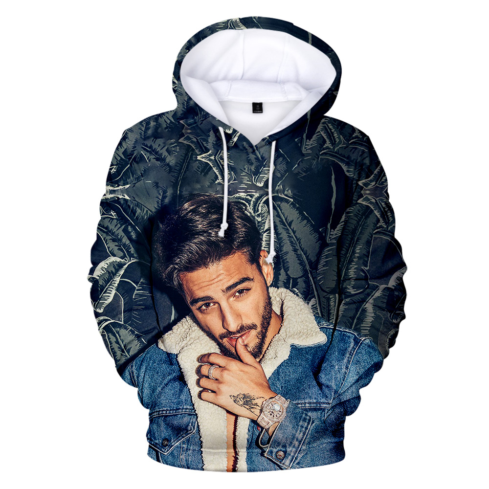 Hot Maluma Hoodies Men Women 3D Print Hoodie Maluma Sweatshirts Autumn Winter Tracksuits Hooded Pullovers Classic Fashion