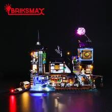 Briksmax светодиодный светильник комплект для 70657 город ниндзя
