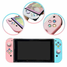 1Set DIY ABXY Left Right Directions Keys Buttons & Cat Claw Thumb Grip Caps For Nintendo Switch Controller Joy Con Covers