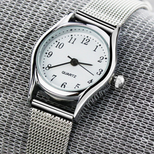 2019 Top luxury Brand Ladies Silver Leisure Quartz Wrist