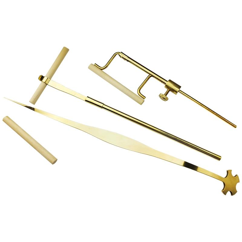 Violin Sound Post Set Gauge Sound Post Retriever Setter Installation Tool, Violin Making Repair Tools