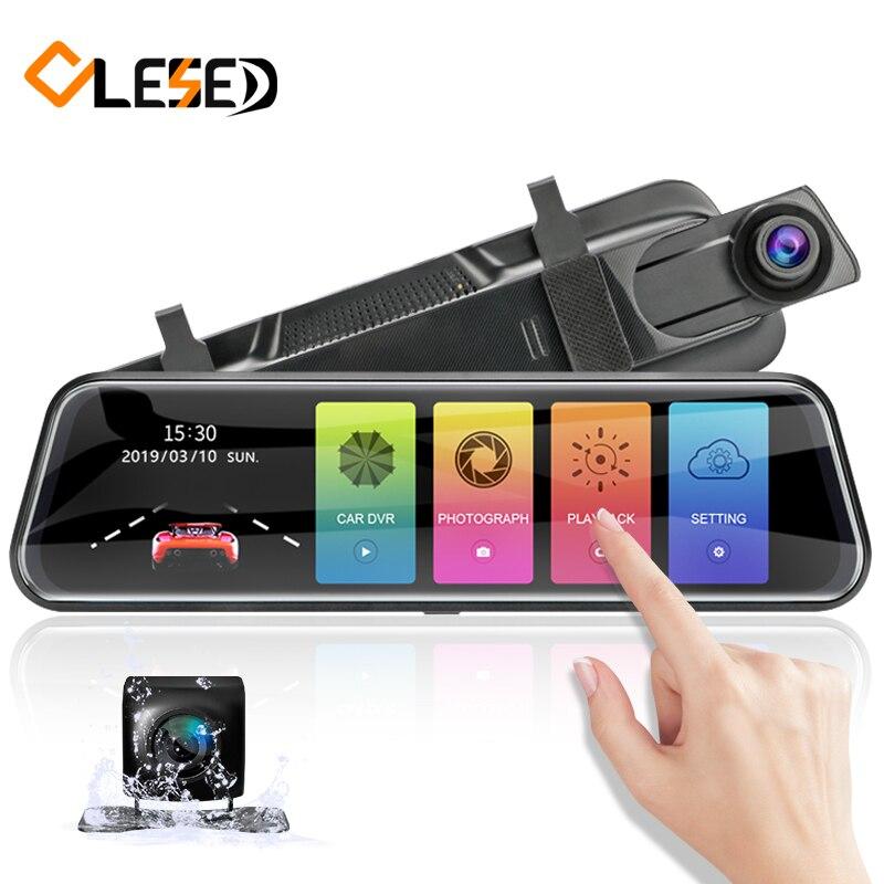OLESED T95 Stream RearView Mirror Car Dvr Mirror Dash Camera Dash Cam Dual Car Camera Full