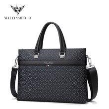 Bolsa de mano para ordenador portátil de 13 pulgadas para hombre, bolso de moda con correa extraíble para documentos, maletín de mano para hombre FS203060