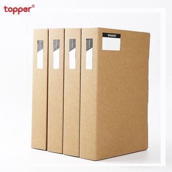 3pcs/set A4 Paper Folder File Book Office Supplies File Storage Box  Photo Album File Bag Manager Folder  File Holder Portfolio