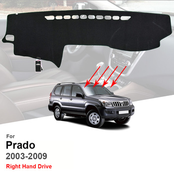 Toyota Land Cruiser Prado 120 2003 - 2020 Dash Mat salpicadero del...