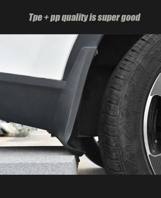 Garde-boue pour Volvo XC90 2015-2020 | Garde-boue, pare-boue XC90 garde-boue, accessoires de voiture avant et arrière 4 pièces