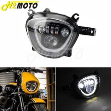 motorcycle wind screen deflector for suzuki boulevard m109 m109r m90 m50 m109r2 m109rz limited 2006 2016 pc windshield w clamps 2006-2019 Motorcycle LED Front Headlight Assembly Running Light DRL High Low Beam For Suzuki Boulevard M109R VZ1500 VZR1800 M90
