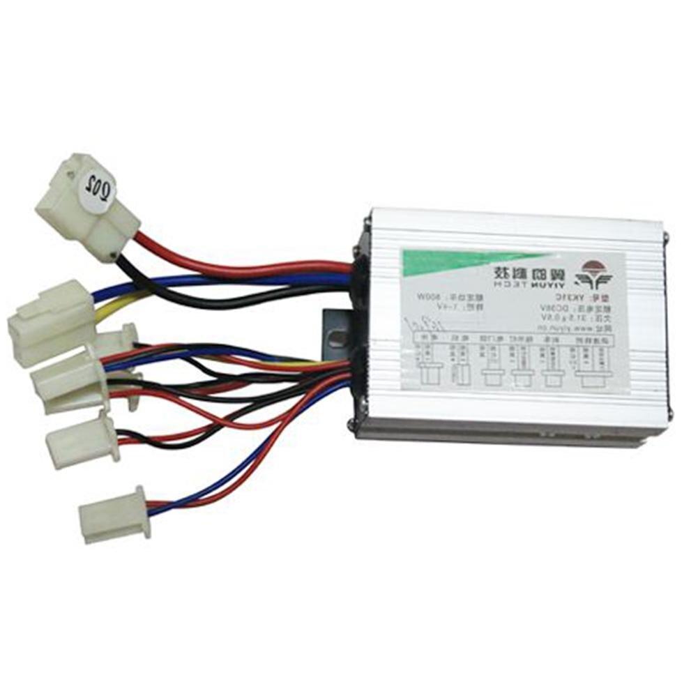 HobbyLane 12V/24V/36V/48V 500W/800W BLDC Motor Controller Electric Bike Tricycle Dual Mode Sensor/Sensorless Controller Hot Sale