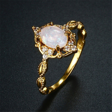 14K Gold Oval Diamond Ring S925 Bague Gemstone Bizuteria Jewelry Ring for Women white Topaz Silver Color 925 Ring with box