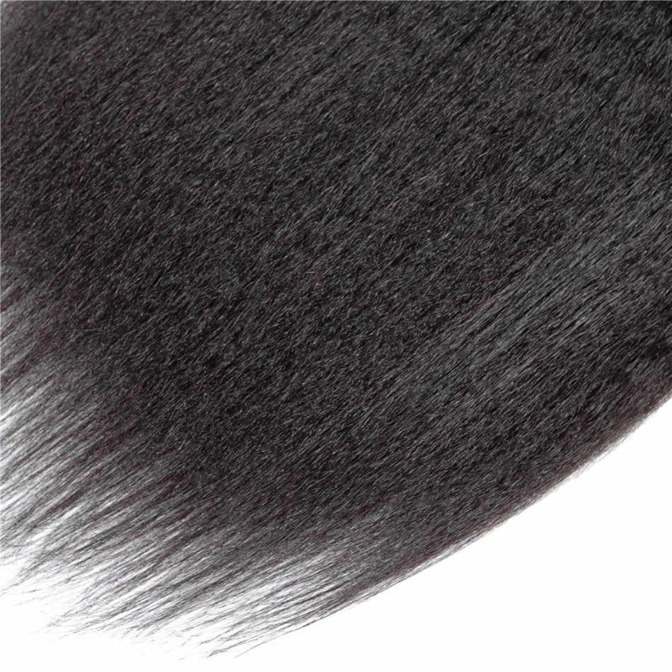 Kinky Steil Haar Bundels Braziliaanse Haar Weefsel Bundels 32 40 30 Inch Bundels Remy Yaki Menselijk Haar Bundels Haarverlenging ariel
