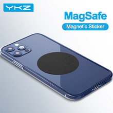 Magsafe Sticker Magnet-Sheet Car-Phone-Stand-Holders Metal-Plate iPhone YKZ for 12-Pro/max