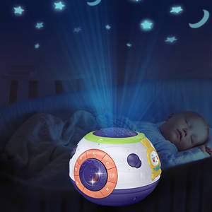 Sleep-Toys Projector Night-Light Starry Baby Kids Children for Sky