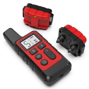 Image 5 - Janpet coleira de treinamento de cães, coleira elétrica de som anti latidos, recarregável, à prova d água, lcd, para cães pequenos e grandes