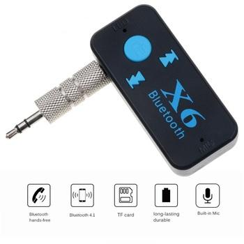 Przenośny odbiornik Audio Bluetooth 5 0 Mini 3 5mm HIFI AUX Stereo Bluetooth do telewizora PC Adapter bezprzewodowy do słuchawek głośnik samochodowy tanie i dobre opinie ONLENY Brak Podwójne RE-X6