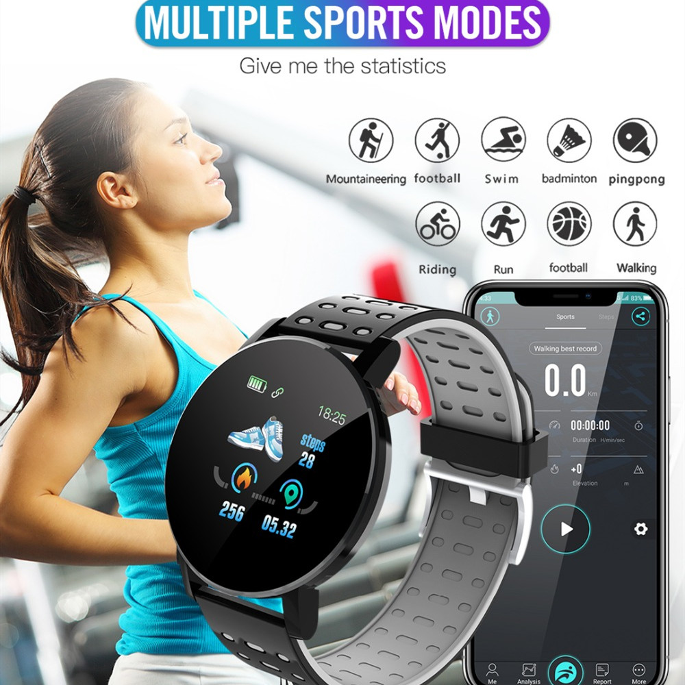 lowest price 2020 New Bluetooth Smart Watch Men Blood Pressure Smartwatch Women Watch Sport Tracker Band For Android IOS WhatsApp