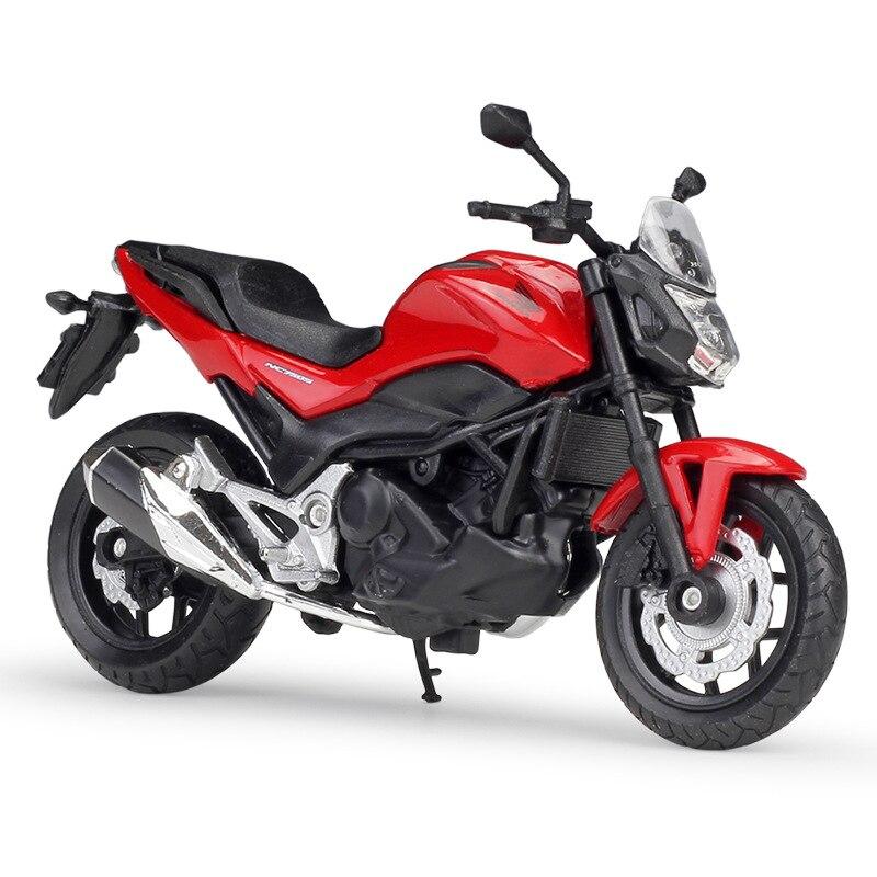1:18 WELLY Honda 2018 NC750S Street Motorcycle Diecast Motor Boy Toys