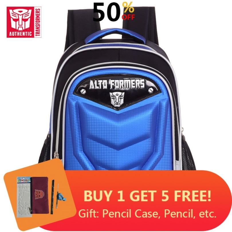 New Transformers Student School Bag Boys Backpack Travel Shoulders Bag Gift