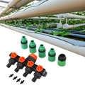Diviseurs de tuyau à 4 voies fabrication élaborée prolongée Durable tuyau d'arrosage automatique Linker minuterie outil d'irrigation de jardin