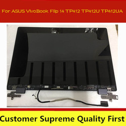 14.0 LCD for ASUS VivoBook Flip 14 TP412 TP412U TP412UA Touch Screen Assembly 1920*1080 N140HCA-EAC