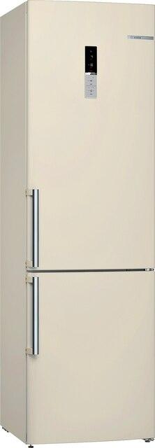Холодильник с нижней морозильной камерой NatureCool Bosch KGE39AK23R