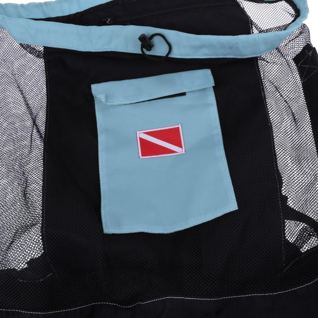 mergulho saco seco pacote saco de malha