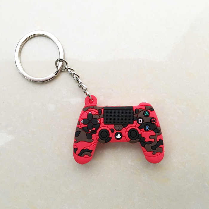 Game Controller Keychains Gamepad Keyring Pendant Charm Video Game Party Favors