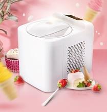 1L 홈 자동 미니 아이스크림 기계 가정용 지능형 자기 차가운 DIY 아이스크림 메이커 1L