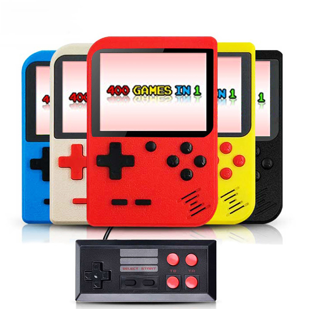 Retro Portable Mini Video Game Console 8 Bit Pocket Handheld Game Player Built-in 400 In 1 Classic Games Best Gift Game Boy