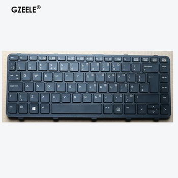 New Laptop Keyboard For HP ProBook 640 440 445 G1 G2 640 645 430 G2 UK Black Keyboard