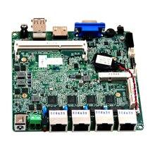Процессор Intel Baytrail J1900 4 * lan порта брандмауэра материнская плата pfsense DC12V Материнские платы