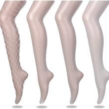 Lady Women Sexy Tights Mesh Fishnet Panty Hose Nightclub Plus Size Club Party Lingerie Hosiery Nylon Plus Size Mesh Pantyhose