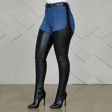 Botas por encima de la rodilla para mujer, botines hasta el muslo con correa en la cintura, color negro, 2020