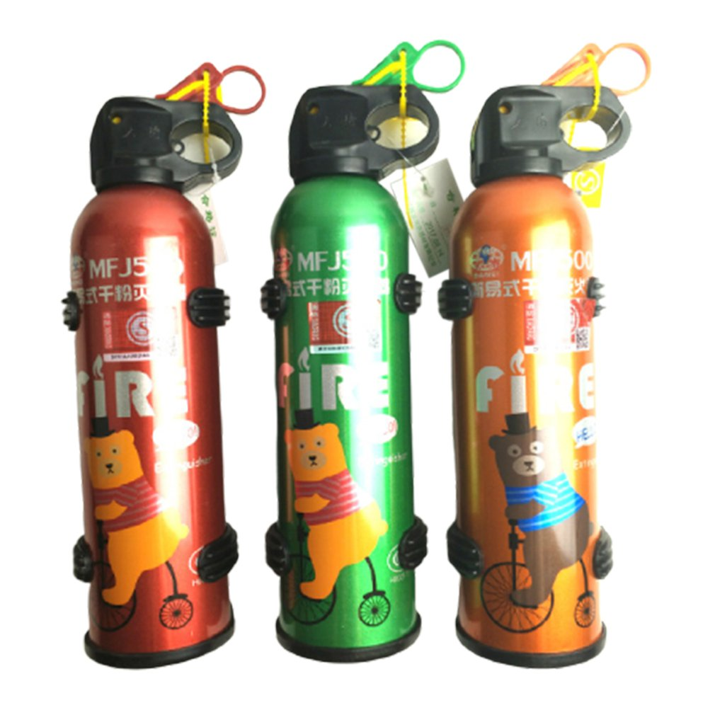 Portable Car Fire Extinguisher With Hook Dry Chemical Fire Extinguisher Safety Flame Fighter Home Office Car|Fire Extinguisher| |  - title=
