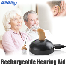 Behind Ear Amplifier Hearing Enhancer Deaf Aparelho Auditivo Rechargeable BTE Hearing Aids Ear Care все цены