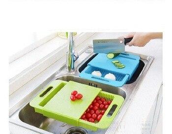 Красочный резервуар для воды, вырубка воды, вызванная чрезмерным количеством осадков, разделочная доска, разделочный блок для кухни, гибкая...