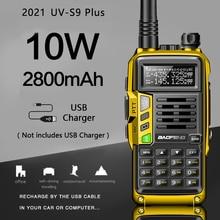 2021 Baofeng UV S9 Plus Krachtige Walkie Talkie Cb Radio Transceiver 8W/10W 10Km Lange Afstand Up van Uv 5r Draagbare Radio Hunt Stad