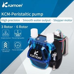 Image 2 - Kamoer KCM 12V/24V  Peristaltic  Water Pump With Stepper Motor and BPT/Silicon Tube Support Self Priming