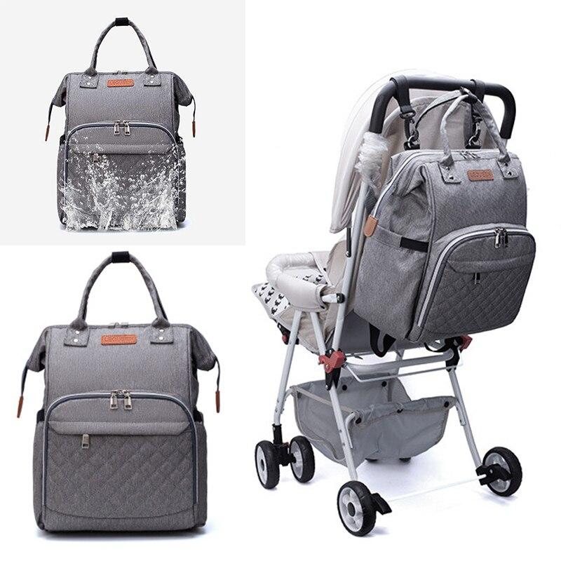 Diaper Bag Fashion Mummy Maternity Nappy Bag Brand Large Capacity Baby Bag Travel Backpack Designer Nursing For Baby Care