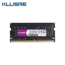 Kllisre ddr4 4GB 8GB 16GB 2133MHz 2400 2666 MHz sodimm זיכרון נייד תמיכה memoria ddr4 מחברת