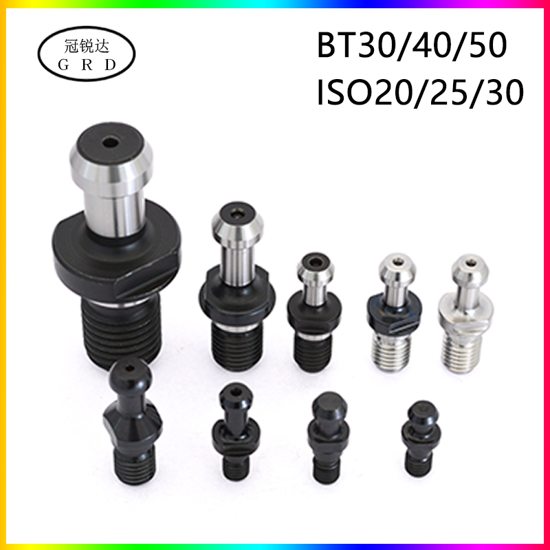 Bt Iso Series Pulling Nail Bt30 Bt40 Bt50 Iso20 Iso25 Iso30 Pulling Nails Used Coordinate BT30/40/50 ISO20/25/30 Tool Holder