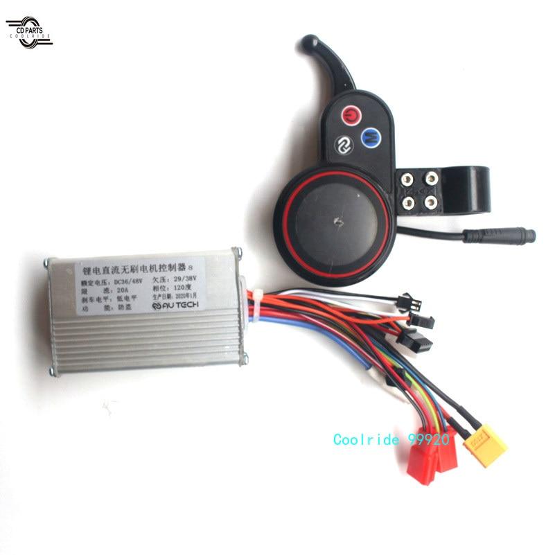 AUTECH חשמלי אופניים אביזרי 24 / 36 / 48V קטנוע Brushless DC מנוע בקר עם LCD תצוגת לוח בקרה יכול Shift