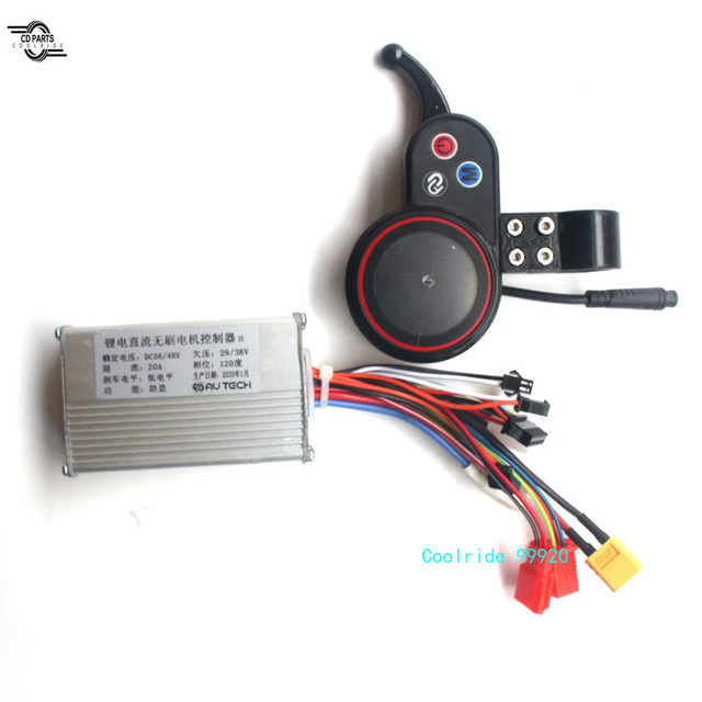 36-48V eBike Electric Bicycle Scooter Brushless Controller LCD Display Panel Set