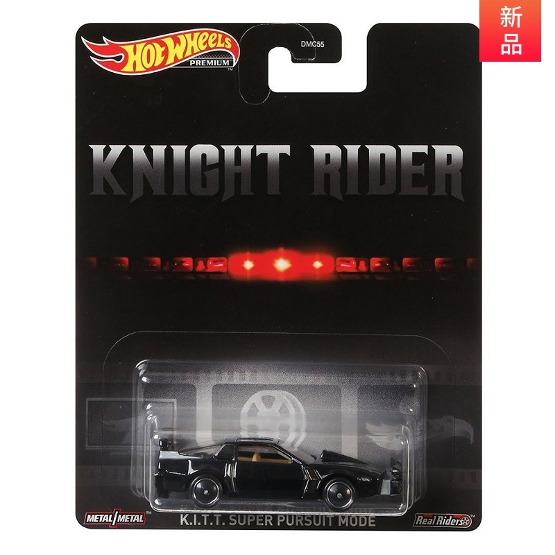 HOT WHEELS 1:64 Car K.I.T.T.K Night Rider Classic Animated Film Version Of The Knight Rider Collector's Car