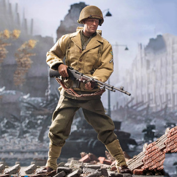 DID A80141 1/6 Scale Collectile Full Set Male Solider US Army Rangers of World War II Action Figure Model for Fans GIfts in stock 1 6 scale zh009 ancient roman soldier full set model action figure for fans gifts with box