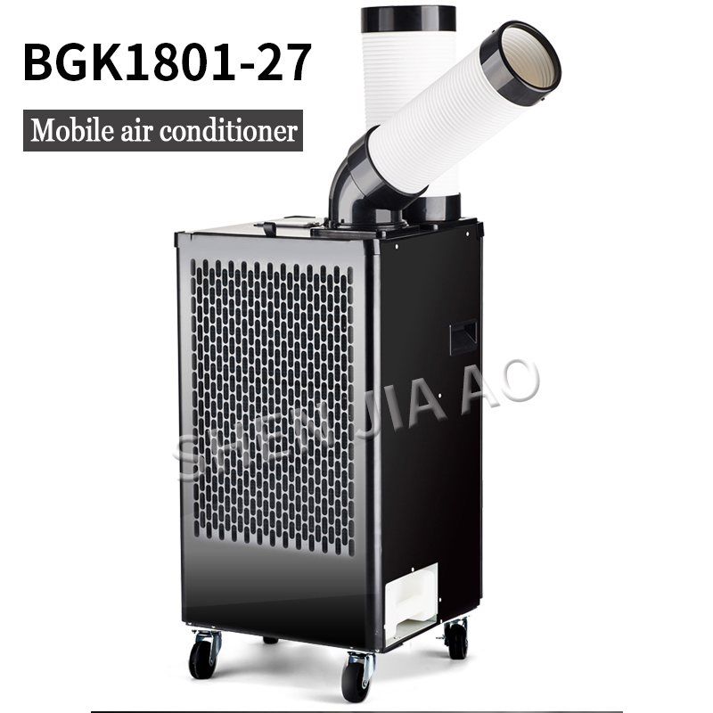 Industrial Mobile Air Conditioner BG1801-27 Air Conditioner Compressor Air Cooler Single Cold Type Integrated Commercial 220V