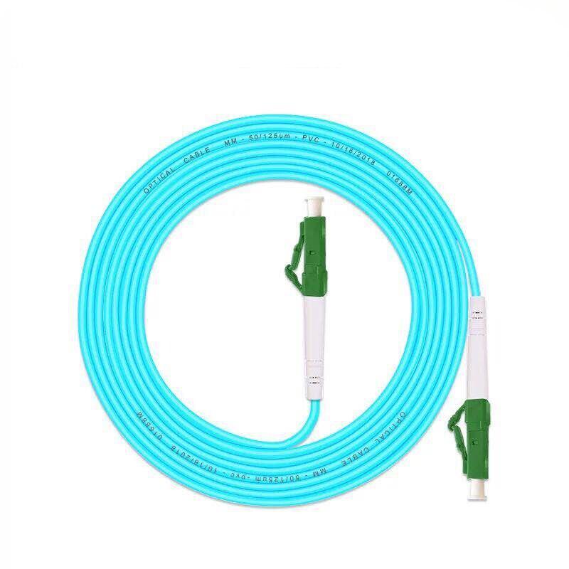 5PCS OM3LC/APC -LC/APC Fiber Optic Patch Cord 10G 50/125 Fiber Cable Multimode Simplex Optical Jumper