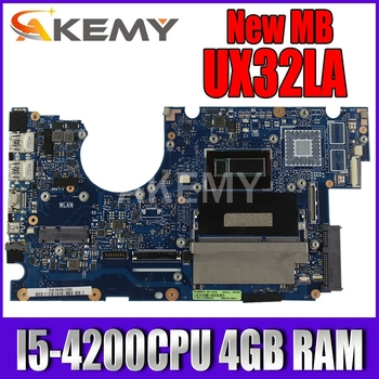 k43sv motherboard gt520m 1gb rev 4 1 for asus a43s x43s k43sv k43sj laptop motherboard k43sv mainboard k43sv motherboard UX32LA motherboard I5-4200CPU 4GB RAM motherboard For Asus UX32LN UX32LA UX32L UX32LA-LN Laptop mainboard Tested 90NB0520-R00010